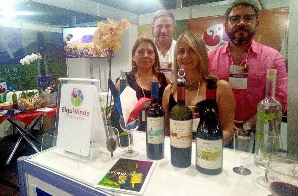 ElquiVinos en la São Paulo International Wine Trade Fair 2018